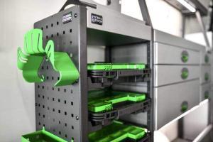 Ford Van Racking Systems | System Edström