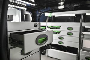 Storage drawers for vans | System Edström