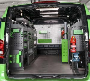 Quality Van Racking Accessories | System Edström