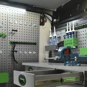 Van Racking Tool Holder | System Edström