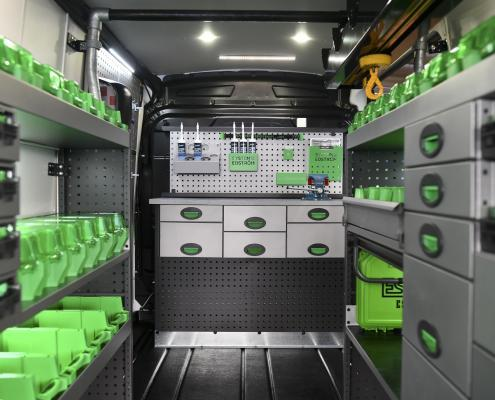 Professional quality vehicle racking systems | System Edström