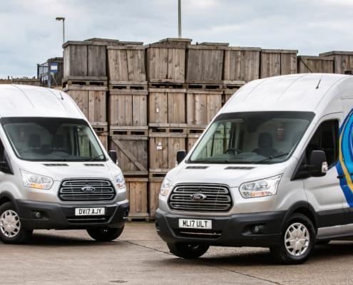 Ford Mobile Service vans